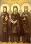 Άγιοι Ιάκωβος ο νέος Οσιομάρτυρας από την Καστοριά και οι δύο μαθητές του Ιάκωβος ο Διάκονος και Διονύσιος ο Μοναχός
