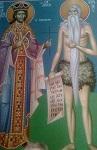 Ο Άγιος Ιωάννης Βατάτζης και ο Όσιος Ονούφριος