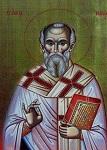Άγιος Μίλος ο  Θαυματουργός Επίσκοπος Ιερομάρτυρας και οι δύο μαθητές του