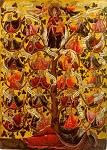 Pίζα του Iεσσαί - αρχές 17ου αι. μ.Χ. - Πρωτάτο, Άγιον Όρος