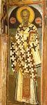 Άγιος Νικόλαος Αρχιεπίσκοπος Μύρων της Λυκίας - Τοιχογραφία του καθολικού της Ιεράς Μονής Αγίου Νικολάου Αναπαυσά