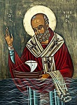 Άγιος Νικόλαος Αρχιεπίσκοπος Μύρων της Λυκίας - Δια χειρός Χαρίκλειας Ιωαννίδου