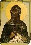 Όσιος Ιωάννης ο Δαμασκηνός - αρχές 14ου αι. μ.Χ. - Σκήτη Aγίας Άννης, Άγιον Όρος