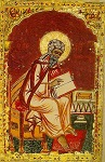 Όσιος Ιωάννης ο Δαμασκηνός (Παπαδική - Γραφέας: Kοσμάς Iβηρίτης και Mεκεδών) - 1686 μ.Χ. - Mονή Iβήρων, Άγιον Όρος