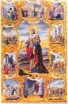 Αγία Βαρβάρα (Καρτ-ποστάλ, έργο  του  Α. Βεβελάκη, 1894 μ.Χ. - Αρχείο - Συλλογή: Δανδόλειος  Βιβλιοθήκη)