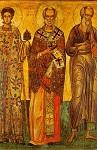 Άγιος Στέφανος, Nικόλαος, Iωάννης ο Θεολόγος - 16ος και 18ος αι. μ.Χ. - Πρωτάτο, Άγιον Όρος
