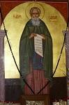 Άγιος Σάββας ο Ηγιασμένος - Ι.Ν. Αγίου Σάββα Ροδιάς