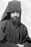 Ο Όσιος Παΐσιος ο Αγιορείτης νέος μοναχός μετά την κουρά του στη μονή Φιλοθέου, 1957 μ.Χ.