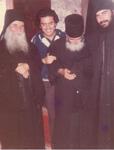 O Όσιος Παΐσιος ο Αγιορείτης με τον Μητροπολίτη Λεμεσού Αθανάσιο
