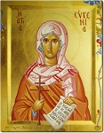 Αγία Ευγενία η Οσιοπαρθενομάρτυς - Γεωργία Δαμικούκα© (http://www.tempera.gr)