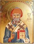 Άγιος Σπυρίδων ο Θαυματουργός, επίσκοπος Τριμυθούντος Κύπρου - Γεωργία Δαμικούκα© (http://www.tempera.gr)