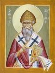 Άγιος Σπυρίδων ο Θαυματουργός, επίσκοπος Τριμυθούντος Κύπρου - Julia Hayes© (www.ikonographics.net)
