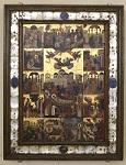 Η Κοίμηση του Αγίου Σπυρίδωνος και σκηνές του βίου του - Εμμανουήλ Τζανφουρνάρης, 1595 μ.Χ.