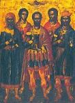 Οι Άγιοι Ευστράτιος, Αυξέντιος, Ευγένιος, Μαρδάριος και Ορέστης