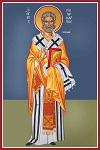 Άγιος Πολύκαρπος Επίσκοπος Σμύρνης - Καζακίδου Μαρία© (byzantineartkazakidou. blogspot.com)