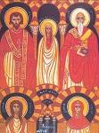 Άγιος Ευλόγιος ο Ιερομάρτυρας και οι Αγίες Λεωκρητία και οι δύο ανώνυμες παρθένες Μάρτυρες εν Κορδούη Ισπανίας