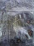 Αργυροεπένδυτη εικόνα παριστάνουσα το θαύμα της Παναγίας Κασσωπίτρας