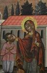 Τμήμα απο την εικόνα του ζωγράφου Θεοδωρου Πουλάκης, ο οποίος την πρόσφερε ως τάμα στην Κασσωπιτρα τον 17ο αιώνα μ.Χ.