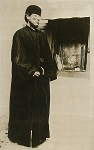 Όσιος Νικηφόρος ο Λεπρός νέος μοναχός στην Χίο