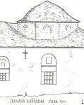 Σχέδιο ναού Παναγιάς Βατούσαινας