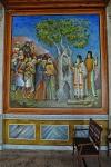 Αποτύπωσις της Θαυματουργού Εικόνος της Παναγίας εις το κύλωμα δένδρου στο χωρίον Κλαπατσούνα (Πλατανιώτισσα)