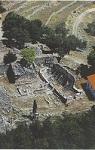 Πανοραμική άποψη της ερειπωμένης πλέον ιστορικής Ιεράς Μονής των Αγίων Φανέντων στην περιοχή της Σάμης Κεφαλληνίας