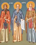 Άγιος Αγάθαρχος Επίσκοπος Λευκάδας και οι Άγιοι Πέντε Θεοφόροι Πατέρες