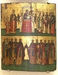 Η Αναστηλώση των Αγίων Εικόνων - Εμμανουήλ Τζανφουρνάρης, τέλη 16ου - αρχές 17ου αιώνα μ.Χ.