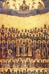 Σύναξη των Αγιορειτών Πατέρων (Ρωσσική)