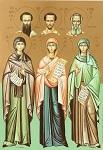 Αγίες Εμμελεία, Νόννα και Ανθούσα, οι μητέρες των Τριών Ιεραρχών