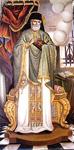 Όσιος Ιωσήφ ο Σαμάκος - Τοιχογραφία Ι. Μ. Στροφάδων και Αγίου Διονυσίου Ζακύνθου - Έργο Ιωάννου Τσολάκου