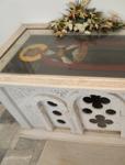 Ο τάφος του Αγίου Θεοδώρου του Χατζή, στο εξωκλήσι Αγ. Ιωάννου του Προδρόμου στον «Μόθωνα» της Μυτιλήνης