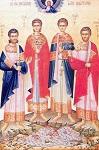 Άγιοι Αδριανός, Πολύευκτος, Πλάτων και Γεώργιος οι Μάρτυρες εν Μεγάροις