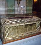 Η ασημένια λειψανοθήκη της Αγίας Φιλοθέης (Μητροπολιτικός Ναός - Αθήνα)