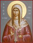 Αγία Φωτεινή η Μεγαλομάρτυς η Σαμαρείτιδα - Julia Hayes© (www.ikonographics.net)