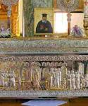 Η λειψανοθήκη του Αγίου Νικολάου Πλανά
