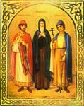 Ανακομιδή των τιμίων Λειψάνων του Αγίου Θεοδώρου του Πρίγκιπος και των υιών αυτού Δαβίδ και Κωνσταντίνου