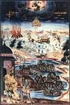 Φορητή εικόνα των Αγίων Τεσσαράκοντα Μαρτύρων στην Ι. Μ. Βατοπεδίου του Αγίου Όρους