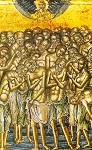Φορητή εικόνα των Αγίων Τεσσαράκοντα του 16ου αιώνα μ.Χ. Φυλάσσεται στην Ι. Μ. Αγίου Ιωάννου Θεολόγου Πάτμου