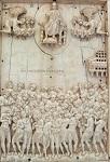 Οι Άγιοι Σαράντα Μάρτυρες της Σεβάστειας. Ανάγλυφο από ελεφαντόδοντο, Κωνσταντινούπολη, 10ος αιώνας μ.Χ. Μουσείο Βυζαντινής Τέχνης, Βερολίνο