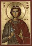 Άγιος Edward βασιλέας της Αγγλίας