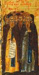 Άγιοι Αββάδες εν τη μονή του Αγίου Σάββα αναιρεθέντες, των λεγομένων Μαύρων
