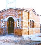 Το ναΐδριο της Αγίας Αργυρής στην Παναγιούδα Λέσβου