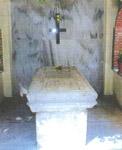 Ο τάφος της Αγίας Αργυρής στον περίβολο του Ιερού Ναού Αγίας Παρασκευής Χάσκιοϊ.