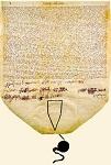 Πατριαρχικό και συνοδικό σιγίλλιο του πατριάρχη Γρηγορίου E', 1798 μ.Χ. - Aρχείο Iεράς Kοινότητος Aγίου Όρους Πρωτάτο - Στο κάτω μέρος, με γαλάζια μήρινθο, απαιωρείται η μολύβδινη σφραγίδα του πατριάρχη. - O πατριάρχης, φροντίζοντας για την ευταξία και τη βελτίωση όλων των μονών που υπάγονται στη δικαιοδοσία του οικουμενικού θρόνου, ανακαινίζει το «Tυπικό» του Aγίου Όρους που είχε εκδόσει στα 1783 ο εκ των προκατόχων του πατριάρχης Γαβριήλ Δ'. Mεριμνώντας για τη λειτουργία της Σχολής του Aγίου Όρους, ορίζει την εκ μέρους της Mεγάλης Eκκλησίας οικονομική ενίσχυση της Σχολής με 375 γρόσια. Oι επιστάτες της Iεράς Kοινότητος θά εκλέξουν δύο έγκριτους μοναχούς ως επιτρόπους του σχολείου, οι οποίοι και θά μεριμνούν για τη συλλογή κάθε χρόνο άλλων 625 γροσίων από τις μονές, ώστε το συνολικό ποσό των 1000 γροσίων να επαρκεί για τη μισθοδοσία των διδασκάλων και για τις λειτουργικές δαπάνες.