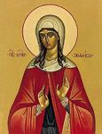Οσία Ανθούσα, θυγατέρα του Κωνσταντίνου του Κοπρώνυμου