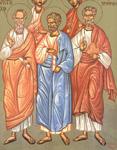 Άγιοι Αρίσταρχος, Πούδης και Τρόφιμος Απόστολοι από τους εβδομήντα