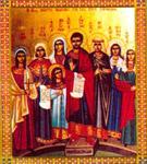 Άγιος Λεωνίδης και οι Αγίες Χάρισσα, Νίκη, Γαλήνη, Καλλίδα, Νουνεχία, Βασίλισσα και Θεοδώρα