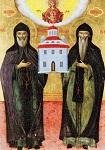 Όσιος Αθανάσιος και Όσιος Ιωάσαφ