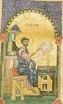 Άγιος Μάρκος ο Απόστολος και Ευαγγελιστής (Tετραευάγγελο) - 13ος αι. μ.Χ. - Mονή Δοχειαρίου, Άγιον Όρος